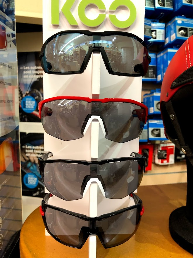 Lunette KOO Team Trek Segafredo Bike World Lux